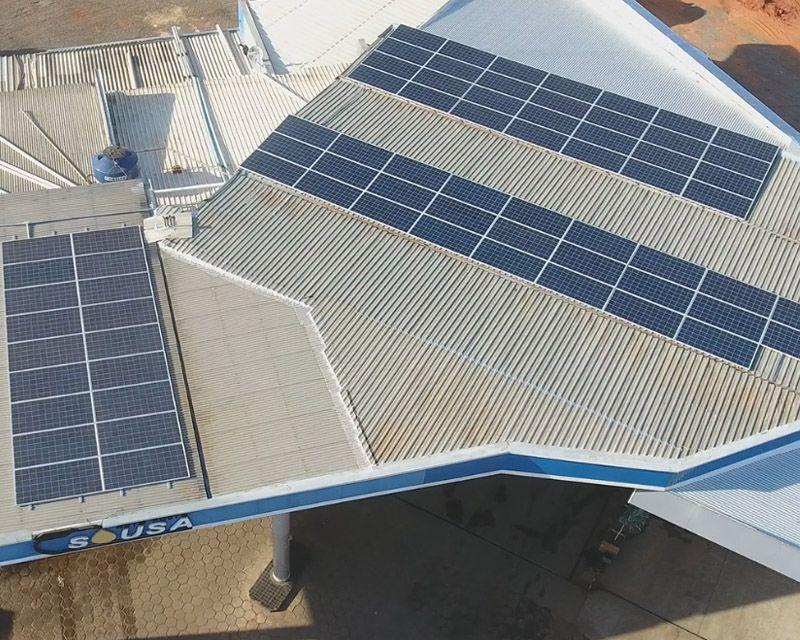 Gerador Fotovoltaico – Geração de até 4800 kWh/mês