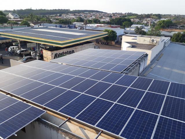 Gerador Fotovoltaico – Geração de até 8500 kWh/mês