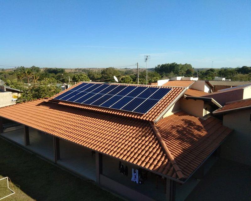 Gerador Fotovoltaico – Geração de até 785 kWh/mês