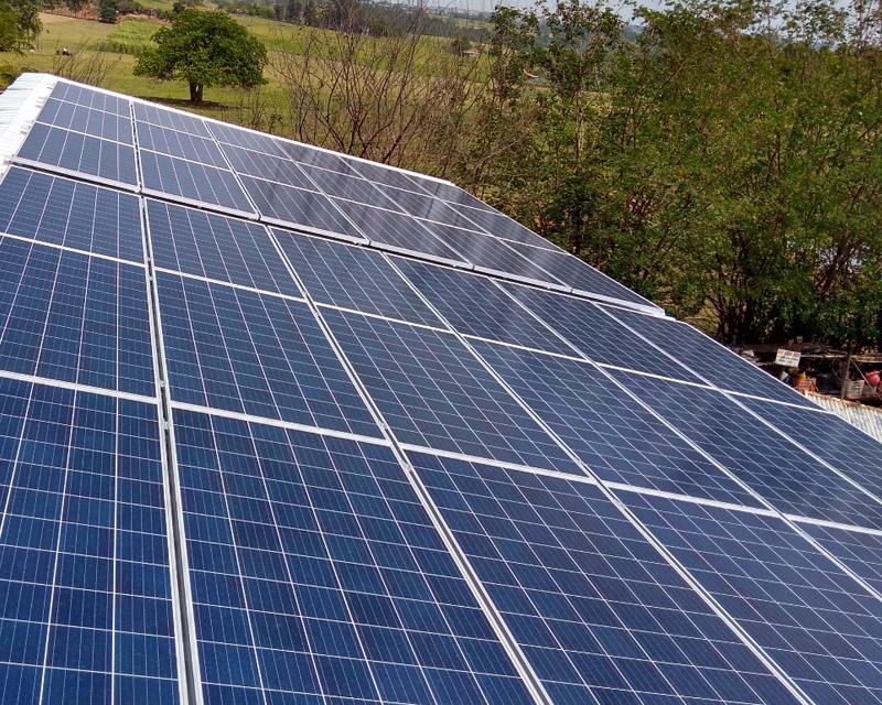 Gerador Fotovoltaico – Geração de até 1500 kWh/mês