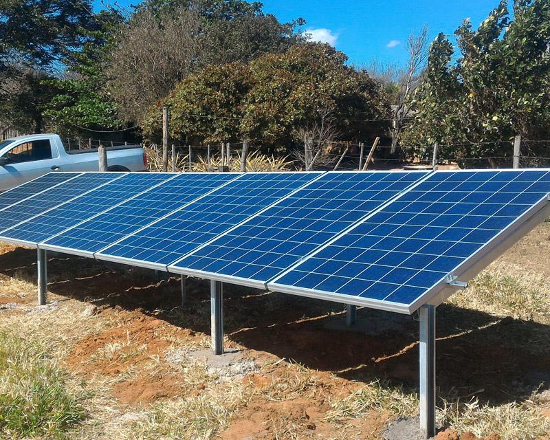 Gerador Fotovoltaico – Geração de até 300 kWh/mês