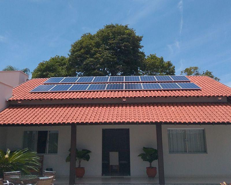 Gerador Fotovoltaico – Geração de até 760 kWh/mês
