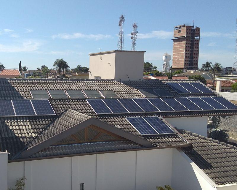 Gerador Fotovoltaico – Geração de até 580 kWh/mês